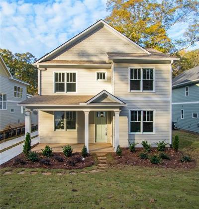 East Atlanta Single Family Home For Sale: 1854 Braeburn Circle SE