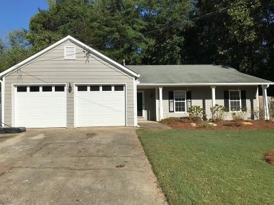 Woodstock Single Family Home For Sale: 3023 River Station Drive