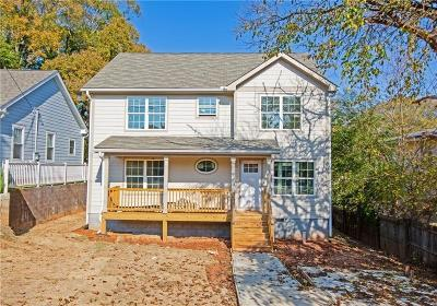 Atlanta Single Family Home For Sale: 1342 Arkwright Place SE