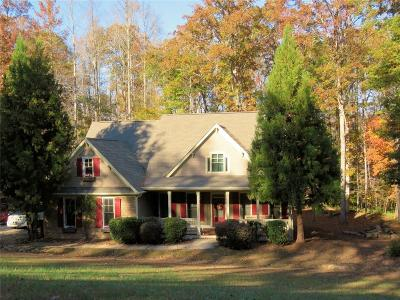 Lumpkin County Single Family Home For Sale: 694 Bearslide Hollow