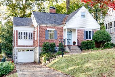 Atlanta Single Family Home For Sale: 532 Princeton Way NE