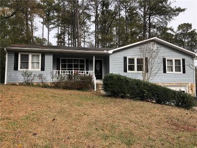 Woodstock Single Family Home For Sale: 405 Doris Drive