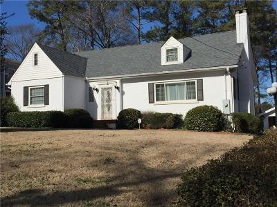 Decatur Single Family Home For Sale: 150 Candler Drive
