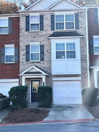 Kennesaw Condo/Townhouse For Sale: 353 Heritage Park Trace #6