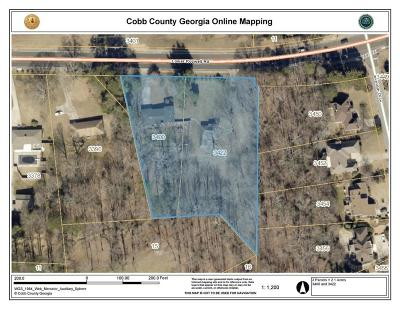 Marietta Residential Lots & Land For Sale: 3400 Lower Roswell Road