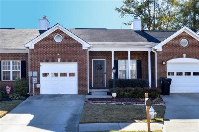 Buford Condo/Townhouse For Sale: 3206 Millgate Court