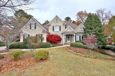 Snellville Single Family Home For Sale: 1280 Woodland Lake Drive