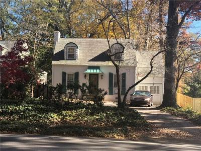 Decatur Single Family Home For Sale: 380 S Candler Street