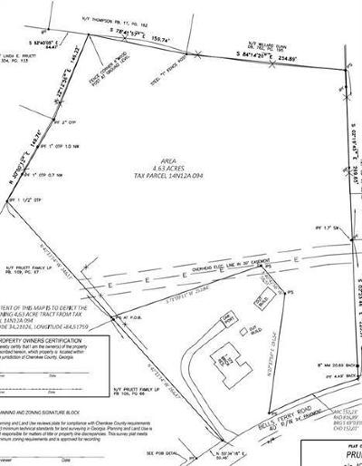 Canton Land/Farm For Sale: 12067 Bells Ferry Road