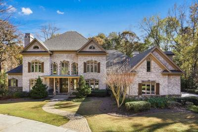 Johns Creek Single Family Home For Sale: 1000 Downing Street