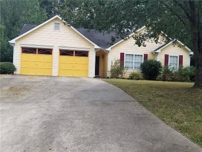 Lithia Springs Single Family Home For Sale: 2644 Johnsbrooke Drive