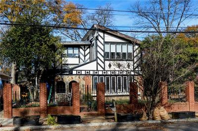 Virginia Highlands Single Family Home For Sale: 870 Greenwood Avenue NE
