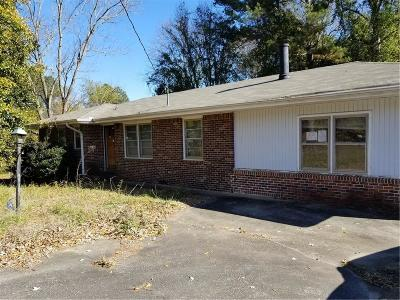 Morrow Single Family Home For Sale: 6258 Mount Zion Boulevard