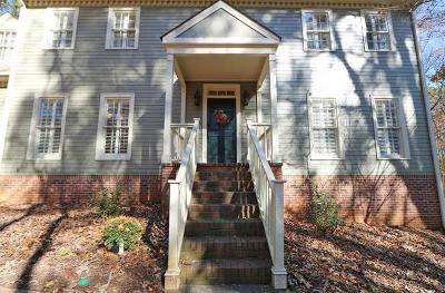 Kennesaw Single Family Home For Sale: 4789 Deer Run NW