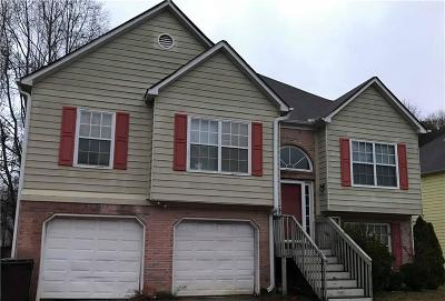 Powder Springs Single Family Home For Sale: 4156 Mistymorn Way