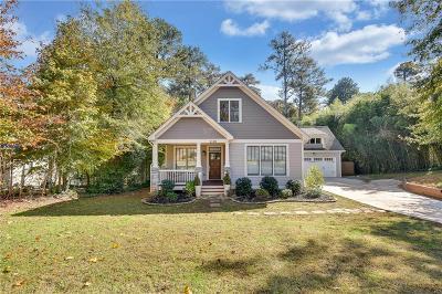 East Atlanta Single Family Home For Sale: 1130 Fayetteville Road SE