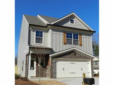 Cartersville Single Family Home For Sale: 22 Griffin Mill Drive NW