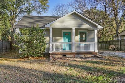 East Atlanta Single Family Home For Sale: 2080 Cavanaugh Avenue SE
