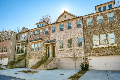 Alpharetta Condo/Townhouse For Sale: 119 Brindle Lane