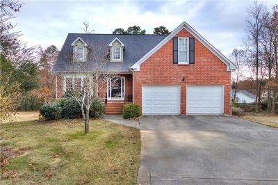 Cartersville Single Family Home For Sale: 18 Wood Forest Drive SW