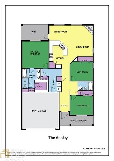 Habersham County Single Family Home For Sale: 203 Sugar Maple Drive