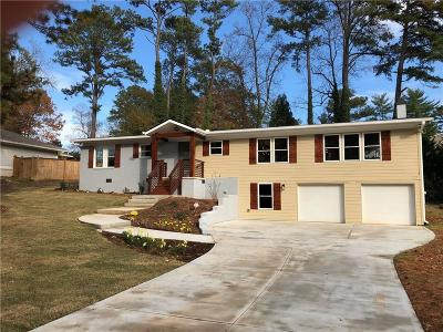 Atlanta Single Family Home For Sale: 1463 Sagamore Drive NE