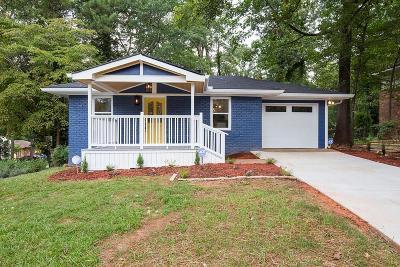 Decatur Single Family Home For Sale: 2384 Mellville Avenue