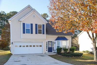 Acworth Single Family Home For Sale: 3355 McEver Park Circle
