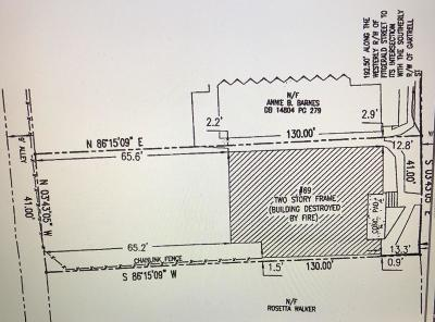 Old Fourth Ward Residential Lots & Land For Sale: 69 Fitzgerald Street SE