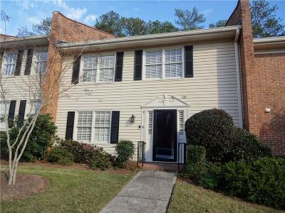 Dunwoody Condo/Townhouse For Sale: 4101 Dunwoody Club Drive #47