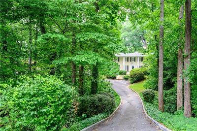 Sandy Springs Single Family Home For Sale: 484 Tara Trail NW