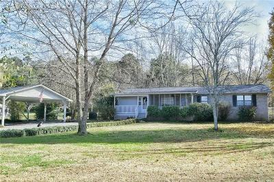 Calhoun Single Family Home For Sale: 746 Reeves Station Road SW