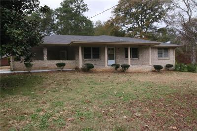 Loganville Single Family Home For Sale: 3700 Sunny Hill Drive