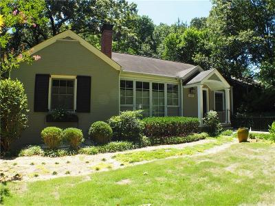 Druid Hills Single Family Home For Sale: 1337 Emory Road NE