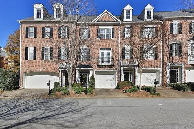 Roswell Condo/Townhouse For Sale: 3508 Waters Edge Trail