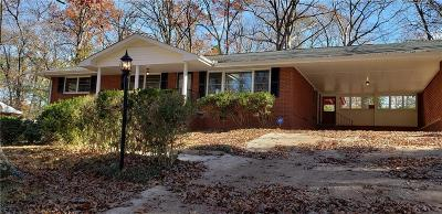 College Park Single Family Home For Sale: 4236 Yates Road