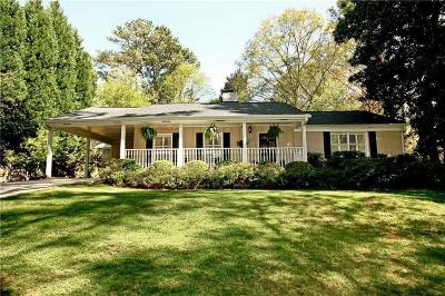 Sandy Springs Single Family Home For Sale: 420 Brookfield Drive