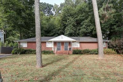 Atlanta Single Family Home For Sale: 2160 Northside Drive NW
