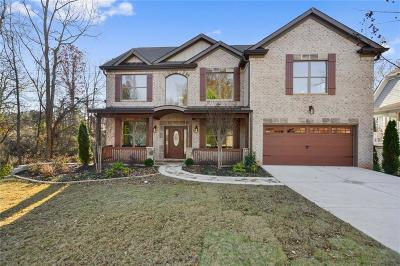 Fulton County, Dekalb County, Cobb County, Douglas County, Henry County, Cherokee County, Gwinnett County, Rockdale County, Forsyth County, Paulding County, Fayette County, Coweta County Single Family Home For Sale: 120 Carriage Station Drive