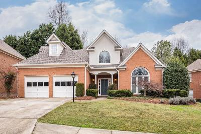 Dunwoody Single Family Home For Sale: 4654 Glenshire Place
