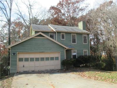 Stone Mountain GA Single Family Home For Sale: $88,000