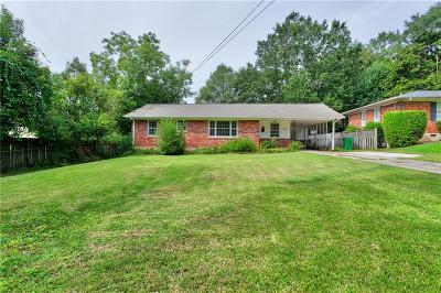 Brookhaven Single Family Home For Sale: 1238 Lindenwood Lane NE