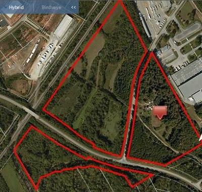 Hall County Commercial For Sale: 4327 West White Road