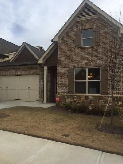 Suwanee Condo/Townhouse For Sale: 367 Rosshandler Road #3