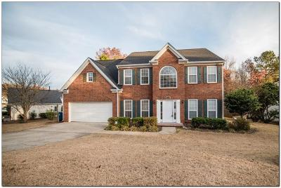 Dacula Single Family Home For Sale: 3140 Evergreen Eve Crossing