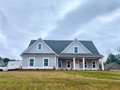 Monroe Single Family Home For Sale: 3052 Brooks Trail