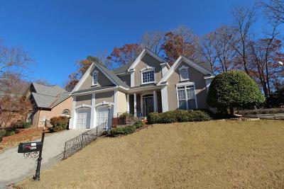 Dunwoody Single Family Home For Sale: 4547 Village Springs Place