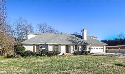 Barrow County, Forsyth County, Gwinnett County, Hall County, Newton County, Walton County Single Family Home For Sale: 3430 Clarks Bridge Crossing