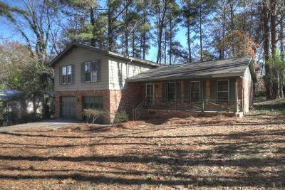 Marietta GA Single Family Home For Sale: $225,000