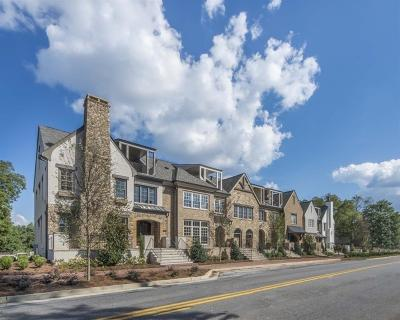 Alpharetta GA Condo/Townhouse For Sale: $1,100,000